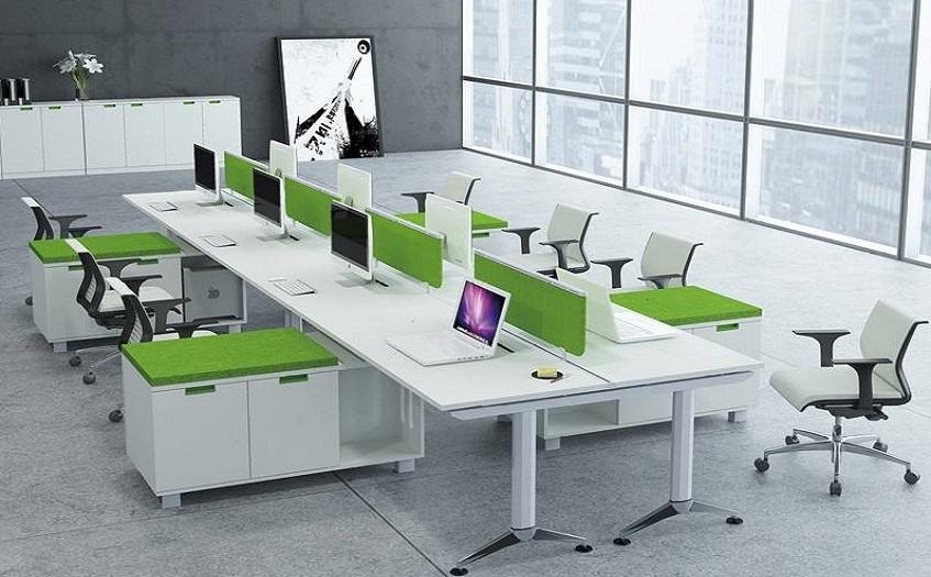 品牌办公家具卡位设计图